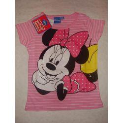 Minnie tričko svetloružová