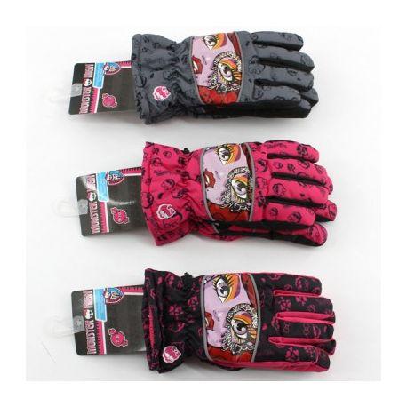 Lyžiarske rukavice Monster High