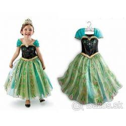 šaty/kostým Frozen-Anna