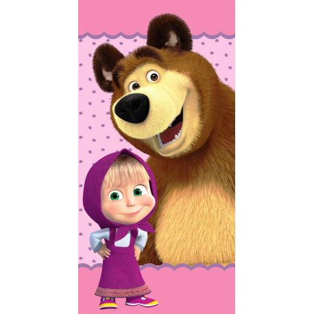 Osuška Máša a medveď- bodky