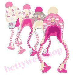 Zimné čiapky Barbie