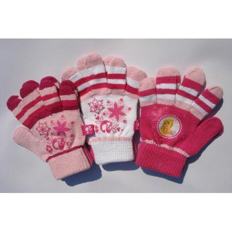 Barbie rukavice v troch farbách